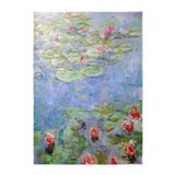 Claude monet 5x7 Rugs