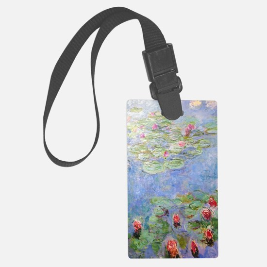 Funny Water lilies Luggage Tag