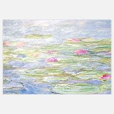 Monet water lilies Wall Art