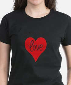 Cool I love you hand Tee