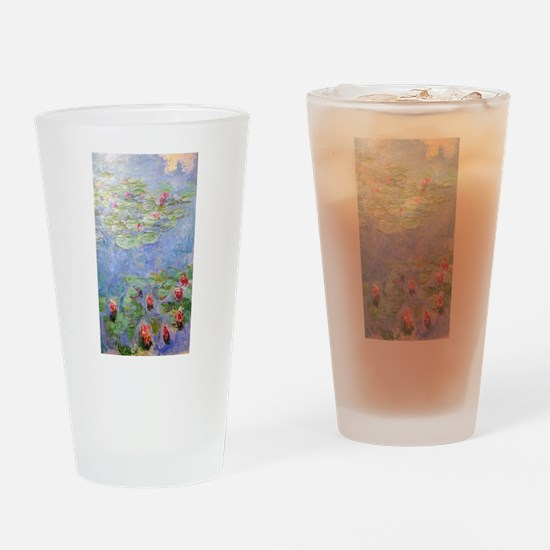 Claude Monet's Water Lilies Drinking Glass