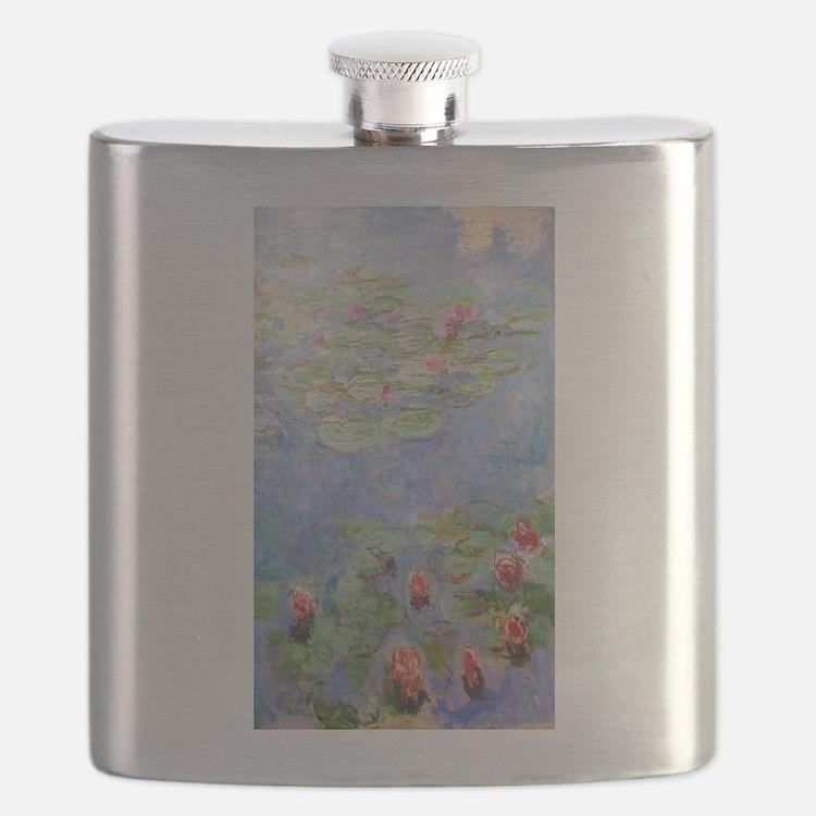 Claude Monet's Water Lilies Flask