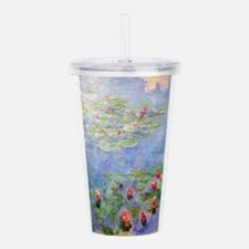 Claude Monet's Water L Acrylic Double-wall Tumbler