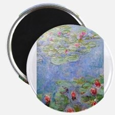 Claude Monet's Water Lilies Magnets