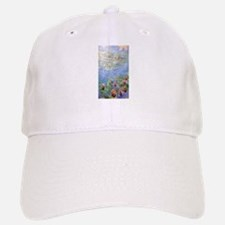 Claude Monet's Water Lilies Baseball Baseball Cap