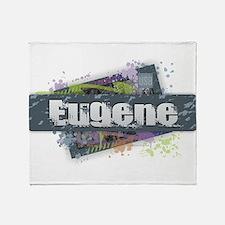 Eugene Design Throw Blanket