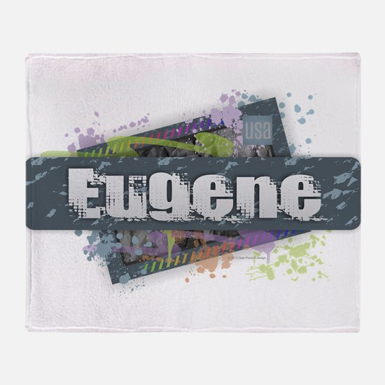 Eugene Design Throw Blanket