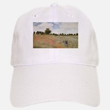 Claude Monet's Coquelicots, La Promnade (Poppi Baseball Baseball Cap