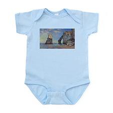 Claude Monet's The Cliffs at Etretat Body Suit