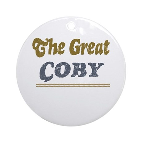 Coby Ornament (Round)