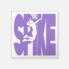 "SPIKE VB Square Sticker 3"" x 3"""