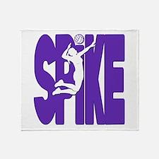SPIKE VB Throw Blanket