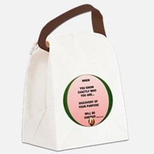 Cool Insulator Canvas Lunch Bag