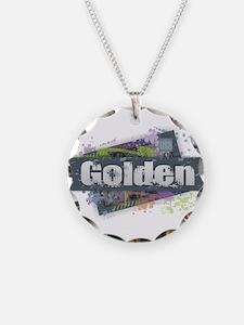 Golden Design Necklace
