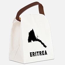 Eritrea Silhouette Canvas Lunch Bag