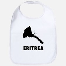 Eritrea Silhouette Bib