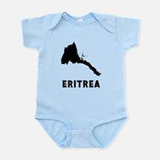 Eritrea Silhouette Body Suit