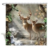 Animals wildlife Shower Curtains
