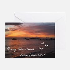 Christmas in Paradise Greeting Cards (Pk of 10)
