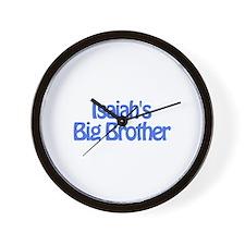 Isaiah's Big Brother Wall Clock