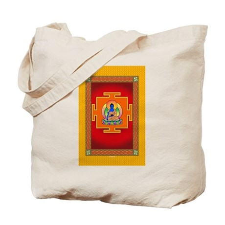 Blue Medicine Buddha Tote Bag