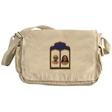 Lahiri Mahasaya and Mahavatar Babaji Messenger Bag