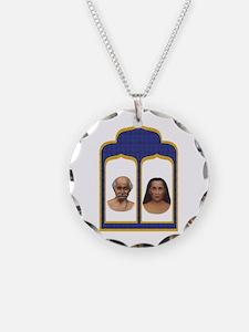 Lahiri Mahasaya and Mahavatar Babaji Necklace