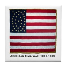 National color (Philadelphia) Tile Coaster