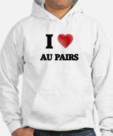 I love Au Pairs (Heart made from Hoodie