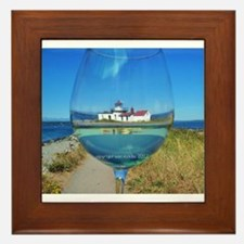 Wineglass Framed Tile