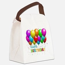 Cute Birthday party Canvas Lunch Bag