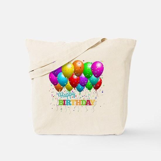 Cute Happy birthday Tote Bag