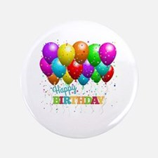 Cute Birthday parties Button