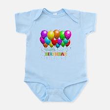Trendy Happy Birthday Balloons Body Suit