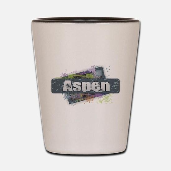 Aspen Design Shot Glass