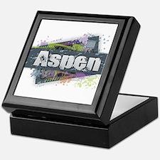 Aspen Design Keepsake Box