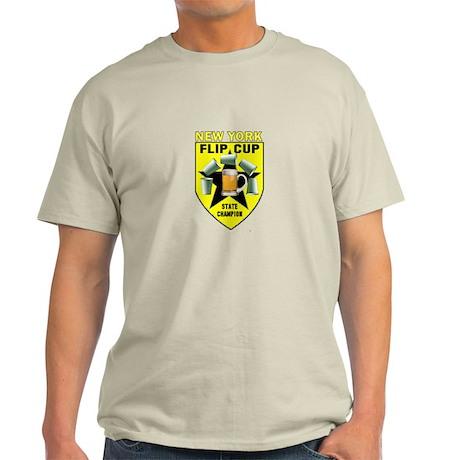 New York Flip Cup State Champ Light T-Shirt