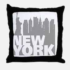 Funny Ny yankee Throw Pillow