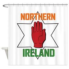 Northern Ireland Shower Curtain