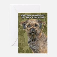 Border Terrier Birthday Card Greeting Cards