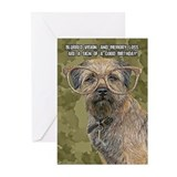 Border terriers Greeting Cards (10 Pack)