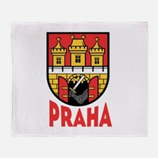 Praha Throw Blanket
