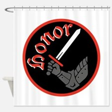 Knight Honor Shower Curtain