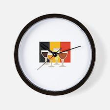 Belgian Beer Wall Clock