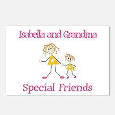 Isabella & Grandma - Friends Postcards (Package of