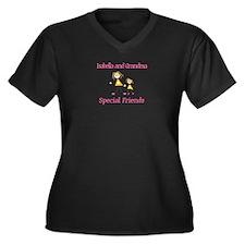 Isabella & Grandma - Friends Women's Plus Size V-N