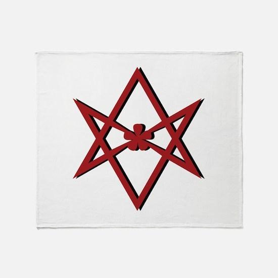 Thelema Symbol Throw Blanket