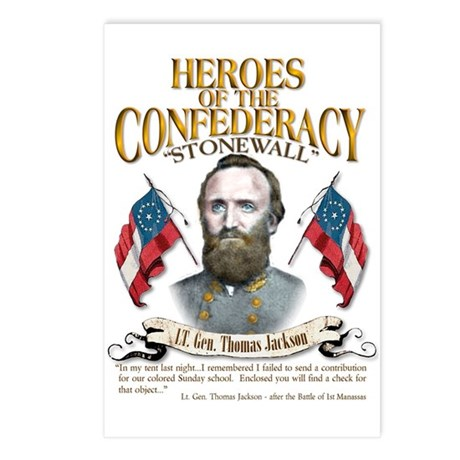 """""""Stonewall"""" Jackson Postcards (Package of 8)"""