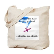 The world goes round... Tote Bag