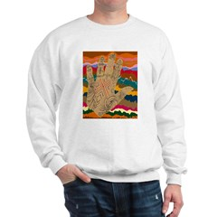 Neolithic HandStrata Sweatshirt